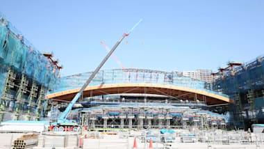 有明体操競技場の屋根工事を見よう