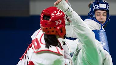 Final do Taekwondo (F) -55kg  | YOG Buenos Aires 2018