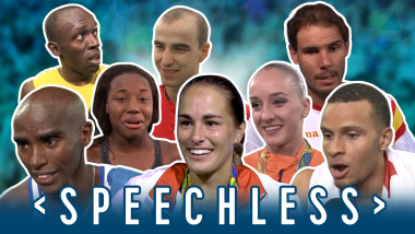 Who knew Olympians could sing? | Speechless feat. the stars of Rio 2016