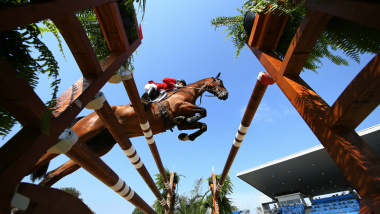 3日間で3種目。総合馬術は人馬ともに体力と精神力が求められる過酷な競技