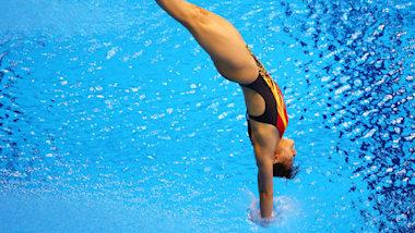 Olympisches Wasserspringen