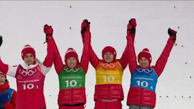 The polish men's ski jumping team in PyeongChang 2018