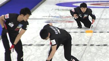 世界男子カーリング選手権、日本はスイスに敗れ銅メダルならず...優勝はスウェーデン