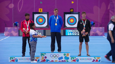 Men's Recurve Final – Archery | YOG 2018 Highlights