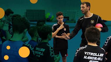 Les plus beaux gestes de handball avec la légende olympique Jérôme Fernandez