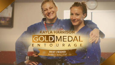 Marti Malloy: The BFF behind Kayla Harrison's historic Olympic success