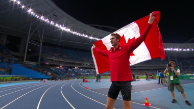 Drouin wins High Jump gold