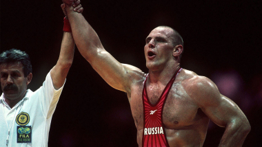 Karelin explains how he won dramatic gold in Seoul with a signature move