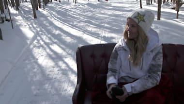 Silje Norendal relaxa em Colorado