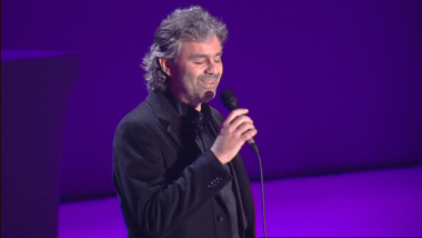 Andrea Bocelli - Because We Believe (Ama Credi E Vai) | Music Monday