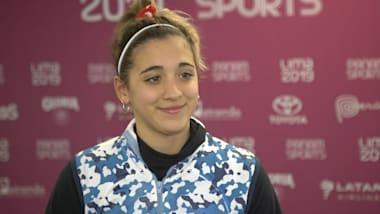 Delfina Pignatiello hört nie auf, an die Olympischen Spiele zu denken