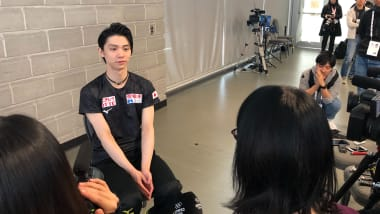 Yuzuru Hanyu says there's more to come after Autumn Classic win