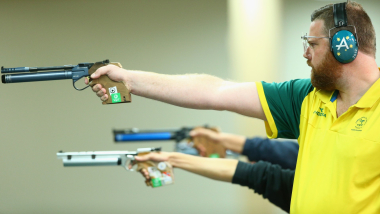 Men's 10m Air Pistol Final | ISSF World Cup Rifle / Pistol - Beijing