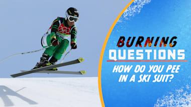 Comment faire ses besoins dans une combinaison de ski ?!