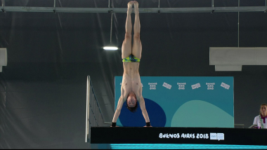 Preliminares plataforma de 10m masculina - Saltos | JOJ Buenos Aires 2018