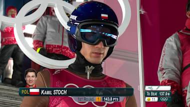 Kamil Stoch in PyeongChang 2018