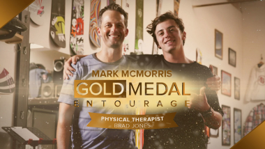 Extra: Sportrehabilitation mit dem Physiotherapeuten von Mark McMorris