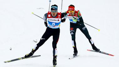 ノルディックスキー世界選手権、複合個人LHの渡部暁人は6位で表彰台逃す