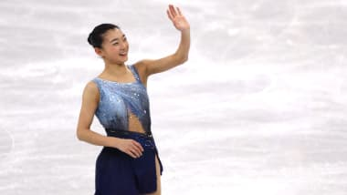 【フィギュア】スケートアメリカ女子SP:坂本花織が2位、樋口新葉が3位発進…首位はテネル