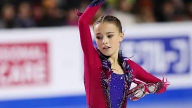 Zagitova fifth as Shcherbakova tops all-junior podium at Russian nationals
