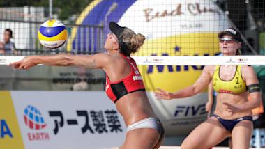 Damen Finals | Beachvolleyball Olympisches Qualifikationsturnier