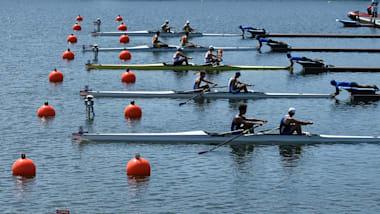 ボートの東京五輪テストイベント開幕:世界ジュニア選手権