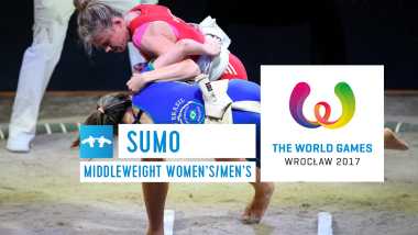 Sumo Women's and Men's Middleweight Finals - The World Games Wroclaw 2017