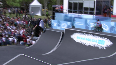 Mixed Freestyle Park Heats - BMX | YOG 2018 Highlights