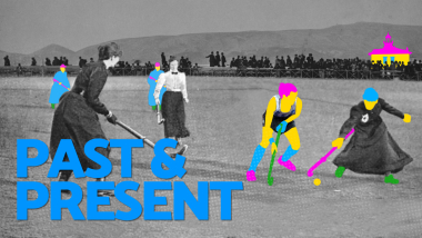 Pasado y presente - Hockey sobre hierba