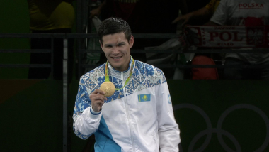Yelussinov wins boxing gold for Kazakhstan
