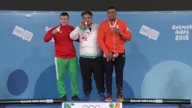 М, +85 кг - Тяжелая атлетика | Лучшие моменты ЮОИ-2018