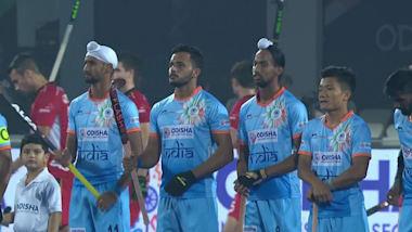 A Índia continua no topo do Grupo C depois de 2-2 contra a Bélgica