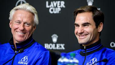 20日開幕レーバー杯、ヨーロッパチームのフェデラー&主将ボルグが意気込みを示す