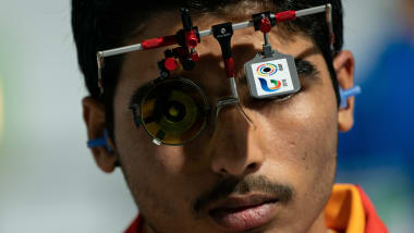 Silver for Chaudhary at the Asian Shooting Championship