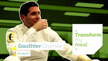 Gauthier Grumier cooks with Maison Rostang´s Chef