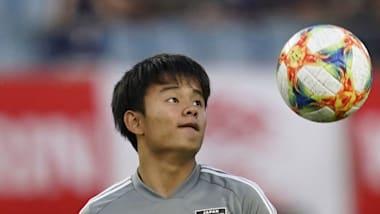 日本代表MF久保建英、現地紙も絶賛:レアル・マドリード実戦デビューで期待感高まる