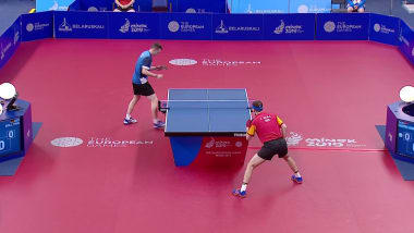 Men's Singles Finals | Table Tennis - European Games - Minsk