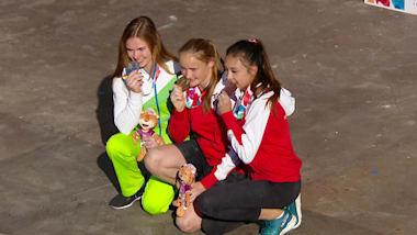 Лучшие моменты юношеских Олимпийских игр #6