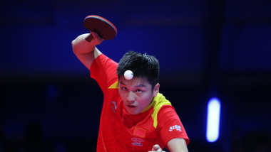 Fan Zhendong wins ITTF Men's World Cup