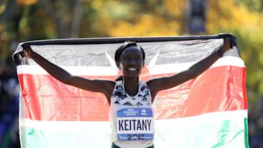 Mary Keitany regains New York title
