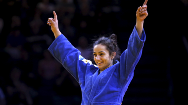 Majlinda Kelmendi leads Kosovo to more success after injury