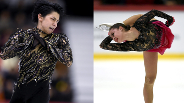 Olympic champs Yuzuru Hanyu and Alina Zagitova under spotlight in Moscow