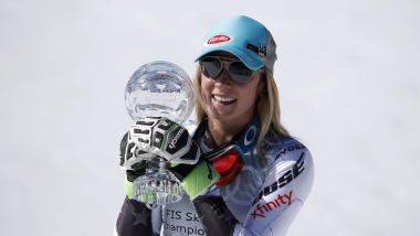 Shiffrin matches Stenmark's World Cup slalom wins record