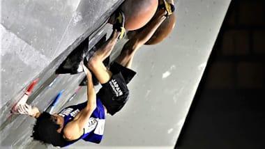 クライミングW杯呉江大会2日目。ボルダリング日本勢男子は原田ら7人、女子は伊藤ら5人が準決勝進出