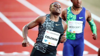 Christian Coleman secures new world lead at Diamond League Oslo