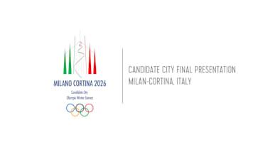 Candidate City Final Presentation - Milan-Cortina, Italy