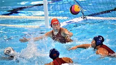 世界水泳・韓国大会3日目:水球の女子日本代表は黒星スタート