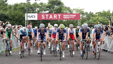 READY STEADY TOKYO -自転車競技(ロード) スタート地点 フォトギャラリー