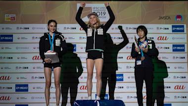 Janja Garnbret completes double at IFSC Climbing World Championships