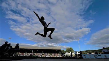 陸上・アスリートナイトゲームズイン福井:走り幅跳びでは、27年ぶりの日本記録が続出!桐生祥秀(日本生命)が10秒05で優勝